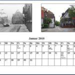 Januar Kalender 2010