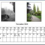 November Kalender 2010
