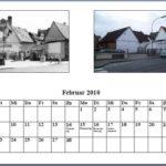Februar Kalender 2010