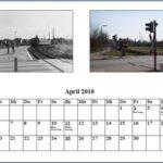 April Kalender 2010