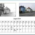 August Kalender 2010