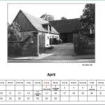 April Kalender 2012