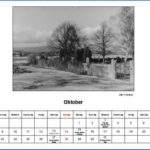 Oktober Kalender 2012