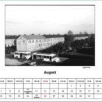 August Kalender 2012