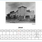 Januar Kalender 2012