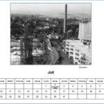Juli Kalender 2012