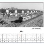 März Kalender 2012
