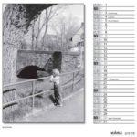 März Kalender 2014