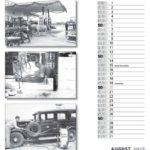 August Kalender 2017