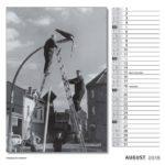 August Kalender 2018