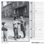 September Kalender 2018